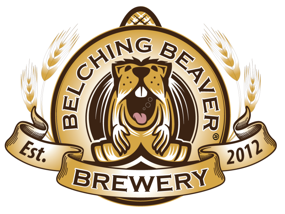 Belching beaver brewpub coming to downtown vista the for Beer logo creator