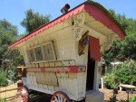 An authentic European Gypsy wagon.
