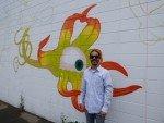 Mural Artist Teddy Pancake