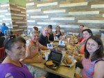 Vista Chamber lunch mob at Hungry Bear Deli
