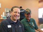 Matt Koumaras and Past Board Member Chuck Rabel