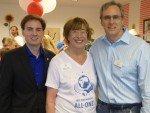 City Councilman Cody Campbell, Trudy Bronner, Kevin Ham, Economic Development City of Vista