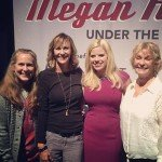 Mayor Ritter and family with Megan Hilty - from facebook