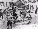 Survivors on Guam.