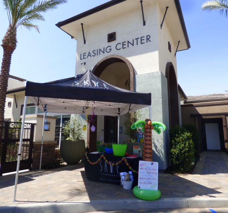 Summer House Apartments: Skye Apartments Holds Summer Luau Open House