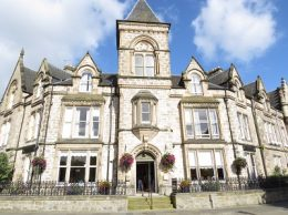 Our bed and breakfast in Inverness, the Strathness House