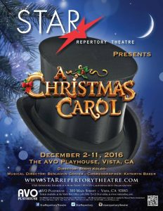 Star Repertory Theatre Presents A Christmas Carol @ AVO Playhouse | Vista | California | United States