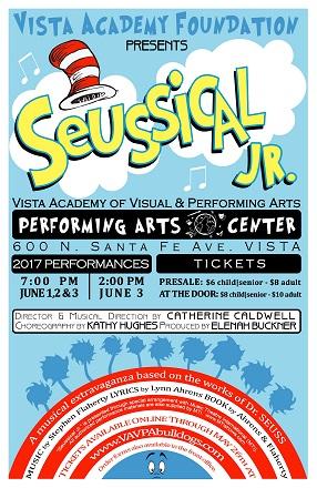 Seussical Jr. At Vista Academy of Visual and Performing ...