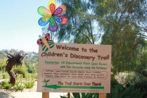 Children 39 S Discovery Trail Dedicated At Alta Vista Botanical Gardens The Vista Press The Vista