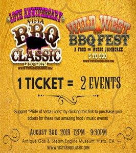 10th Anniversary Vista BBQ Classic - The Vista Press The